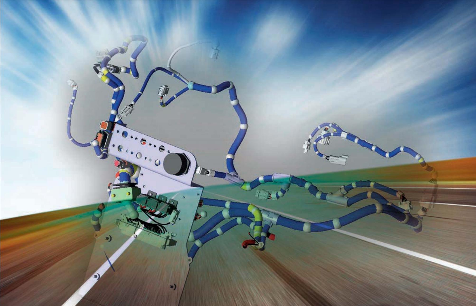 Steyr motors harness 3D