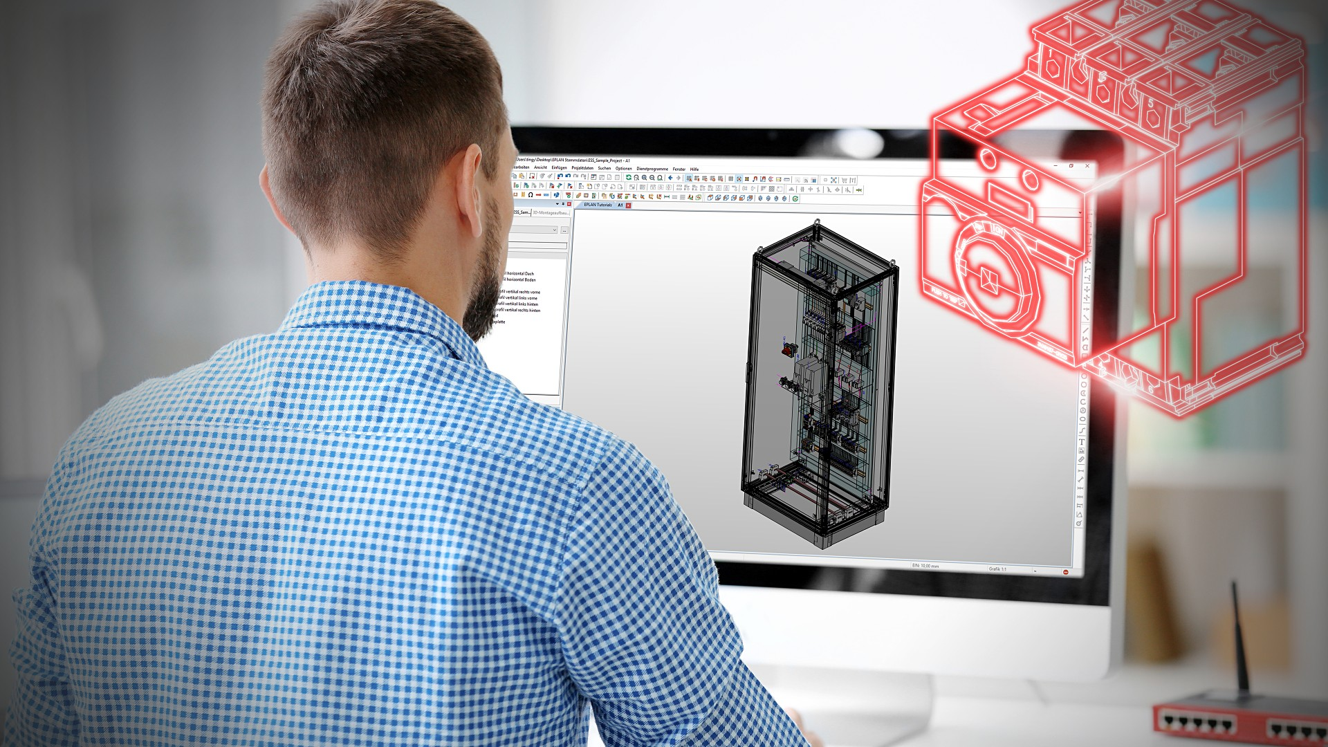 EPLAN 3D Digital Twin